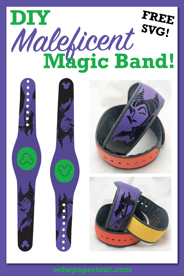 Pin it! Maleficent DIY Magic Bands