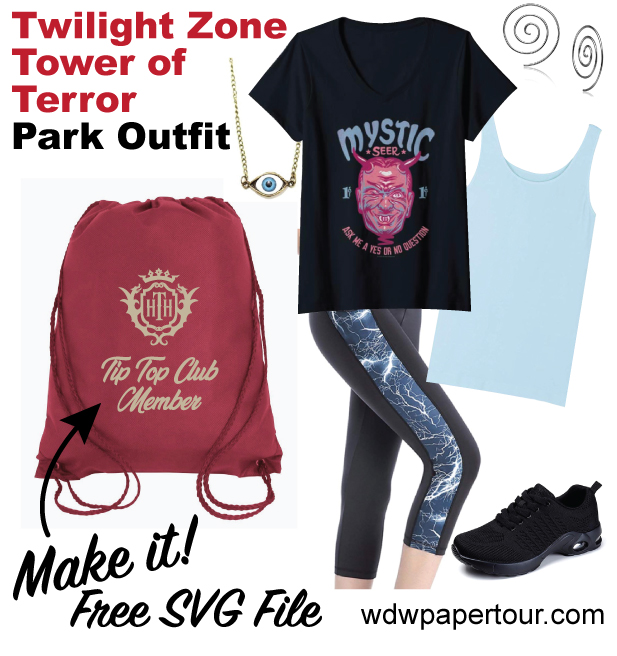 Twilight Zone Tower of Terror Park Outfit