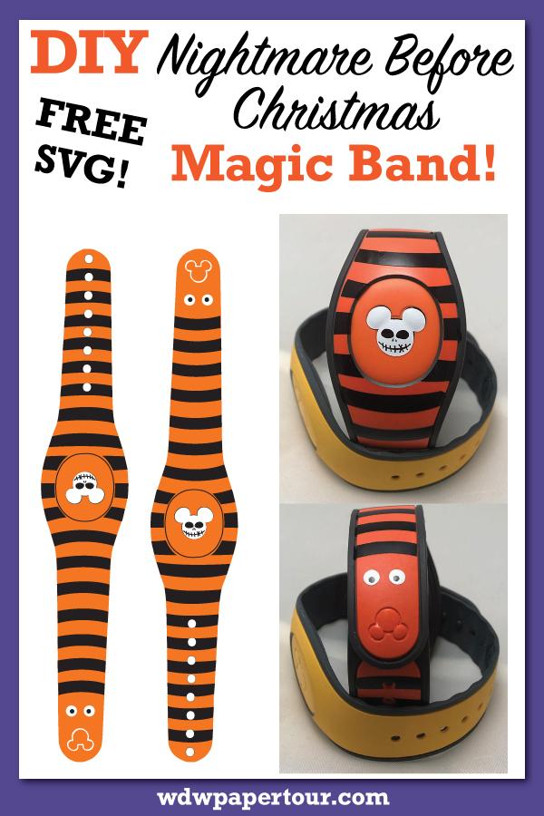 DIY Nightmare Before Christmas Magic Band